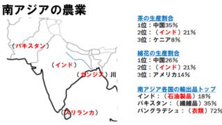 中学地理「インド」