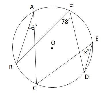 円周角の大きさ2