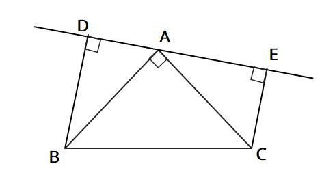 直角三角形の合同証明応用問題