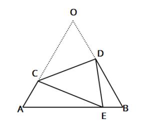 正三角形折り返し